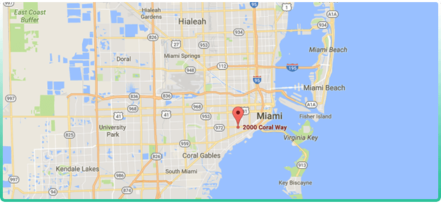 Hope Miami Map